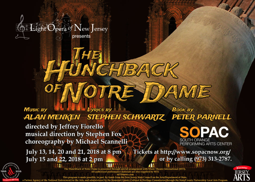 The Hunchback of Notre Dame July 2018