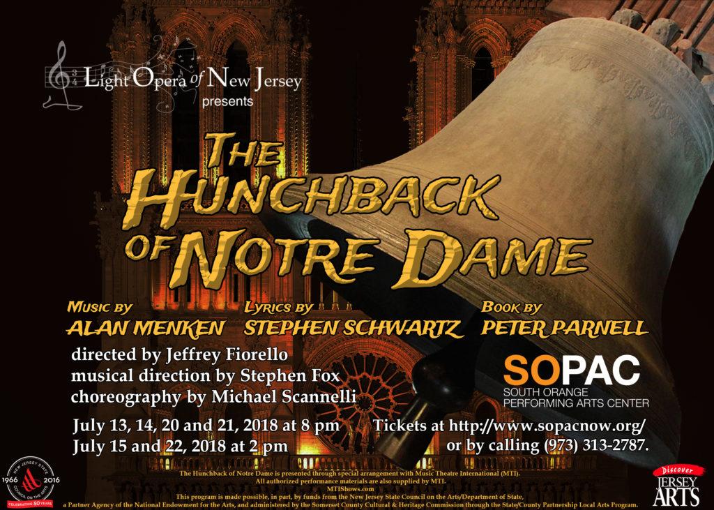 The Hunchback of Notre Dame July 2018