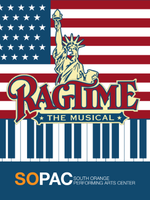 Ragtime the Musical logo